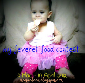 "Contest - ""MY FEVERET FOOD"""