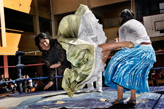 flying cholitas, bolivia, female wrestling, lucha libre, world press