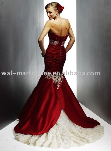 Wedding Dresses Color Red : Color wedding dress bridal dresses