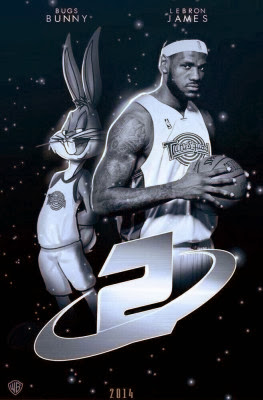 Space Jam 2: LeBron James, Space Jam 2, LeBron James, Lebron, Bugs Bunny, Warner Bros
