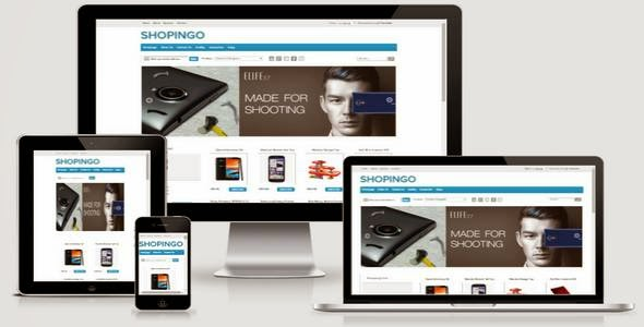 Shopingo - Responsive Blogger eCommerce Template