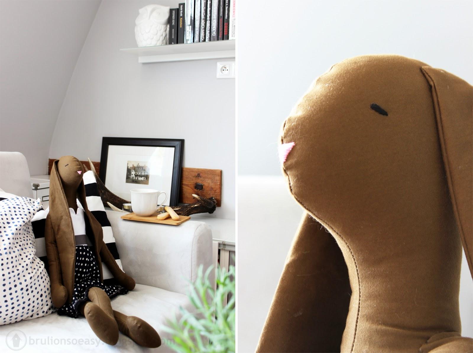 królik hand made
