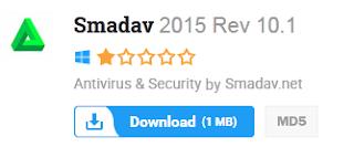 Free Download Smadav 2015 Rev 10.1 Offline Installer