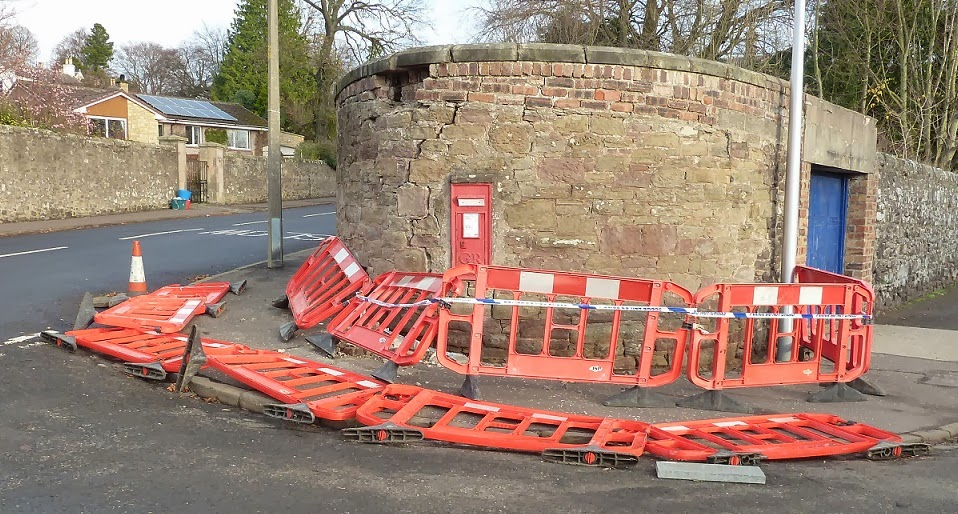 Post Box at the junction of Camphill Road with Bughties Road Broughty Ferry