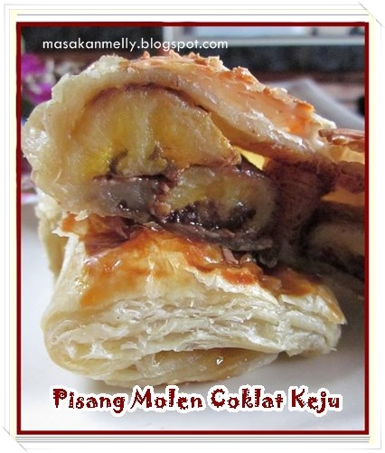 Pisang Molen Coklat Keju makes 10 pcs