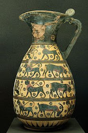 Olpe protocorintio. 640-630a.c.