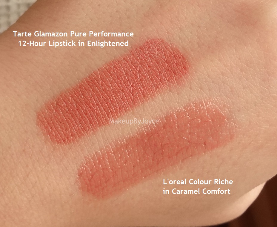 ❤ MakeupByJoyce ❤** !: Swatches + Comparisons - Tarte Glamazon ...