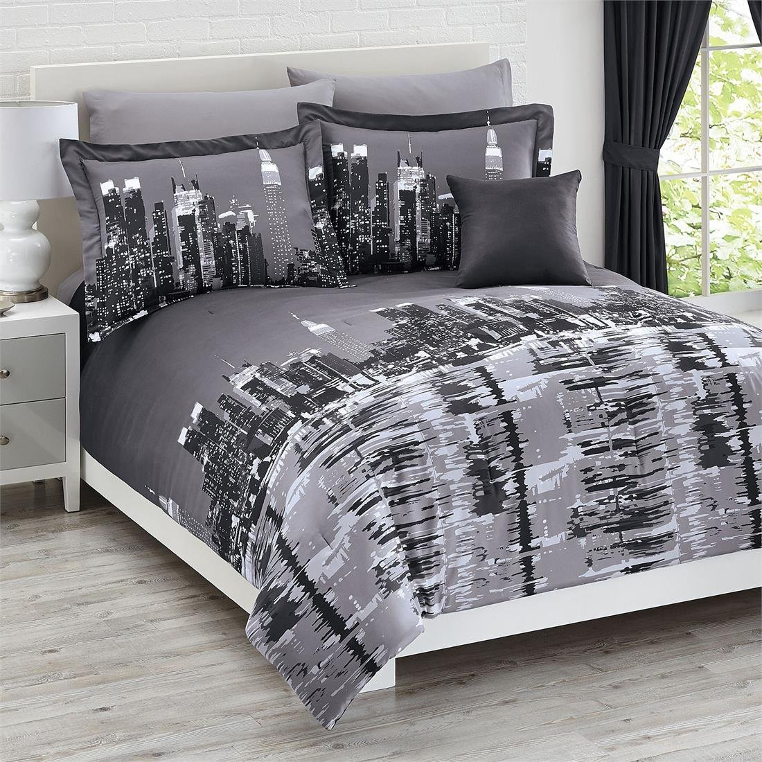 New York City Theme Bedroom submited images