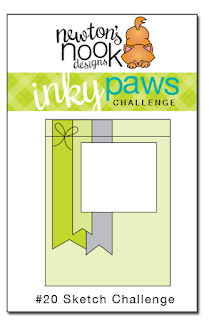 Inky Paws Challenge #20 - Sketch Challenge - Newton's Nook Designs