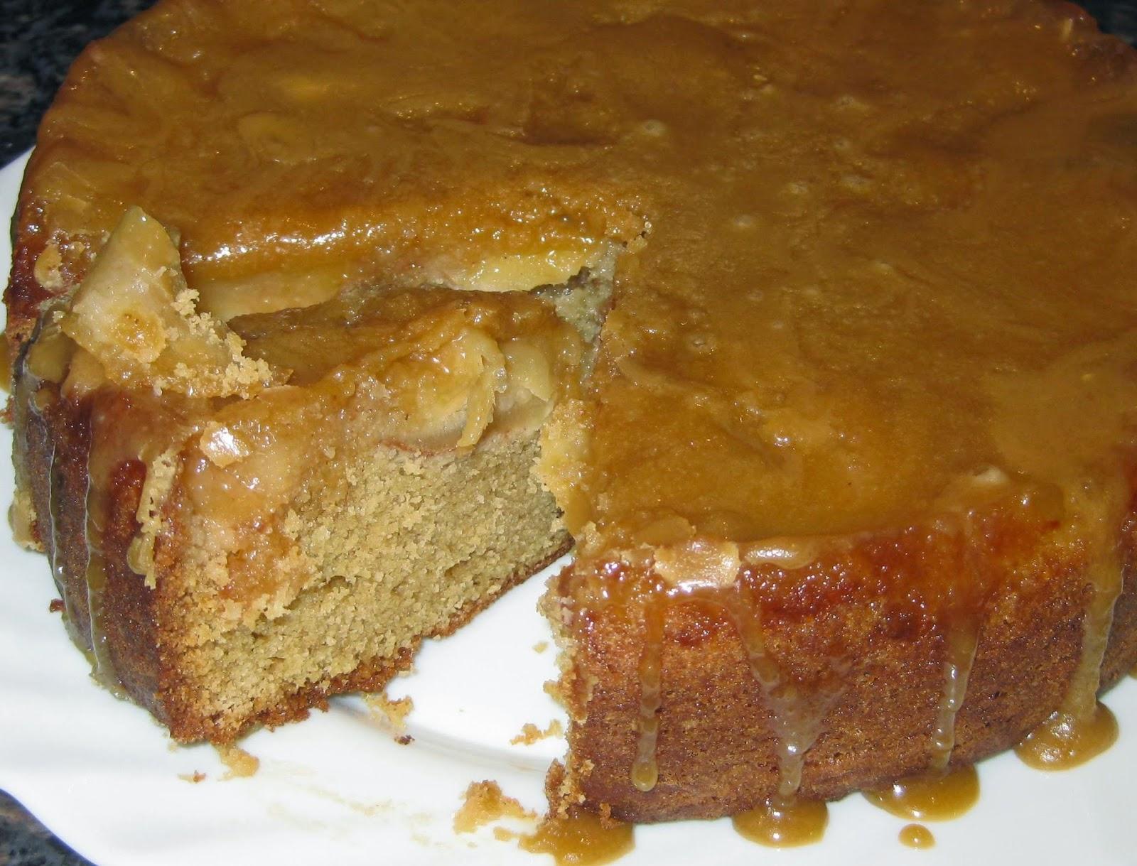 Bonfire Toffee Cake Recipe