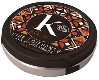 K pour Karité  CIRE COIFFANTE Cera modellante