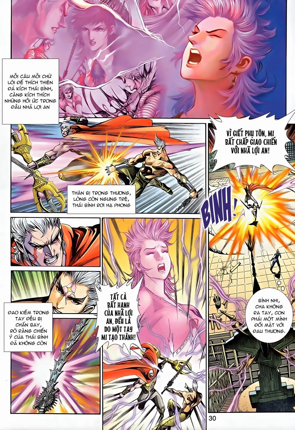 Thần Binh Tiền Truyện 2 chap 21 Trang 29 - Mangak.info