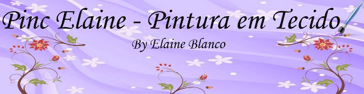 Pinc Elaine - Pintura em Tecido