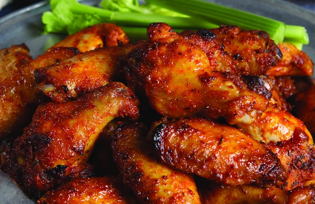 Spicy Bayou Bourbon Glazed Wings Recipes — Dishmaps