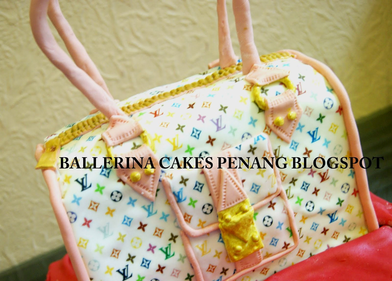 Louise Vuitton Handbag Cake