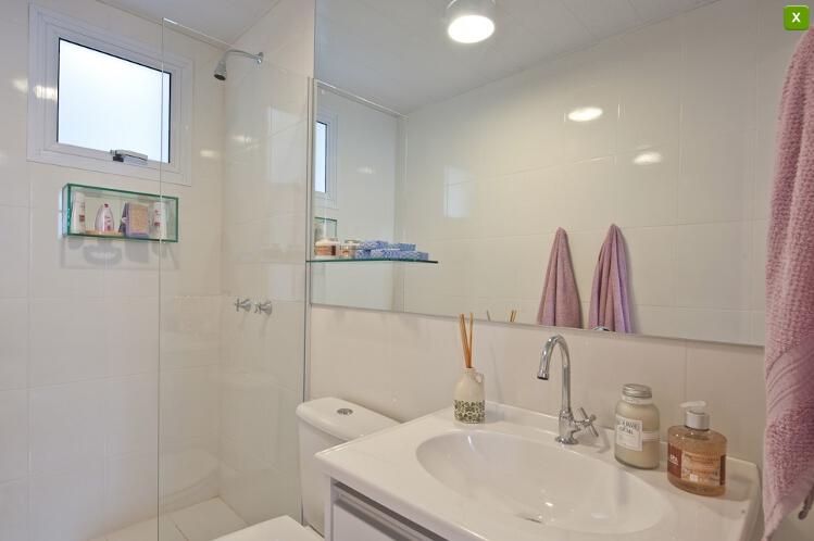 Apartamentos Decorados  Inspirações  Comprando Meu Apê  Comprando Meu Apê -> Decoracao De Banheiro Para Apartamento