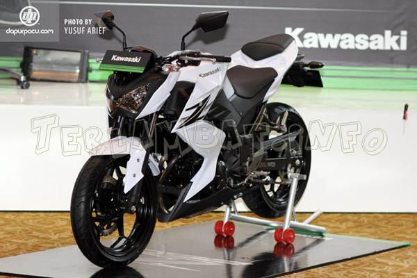 Kawasaki Z250 Pearl Stardust White (Putih)