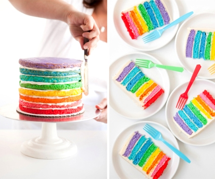 Rainbow Cake Michelle Bakery Bogor