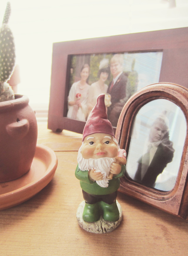October Rebel: Little Garden Gnome