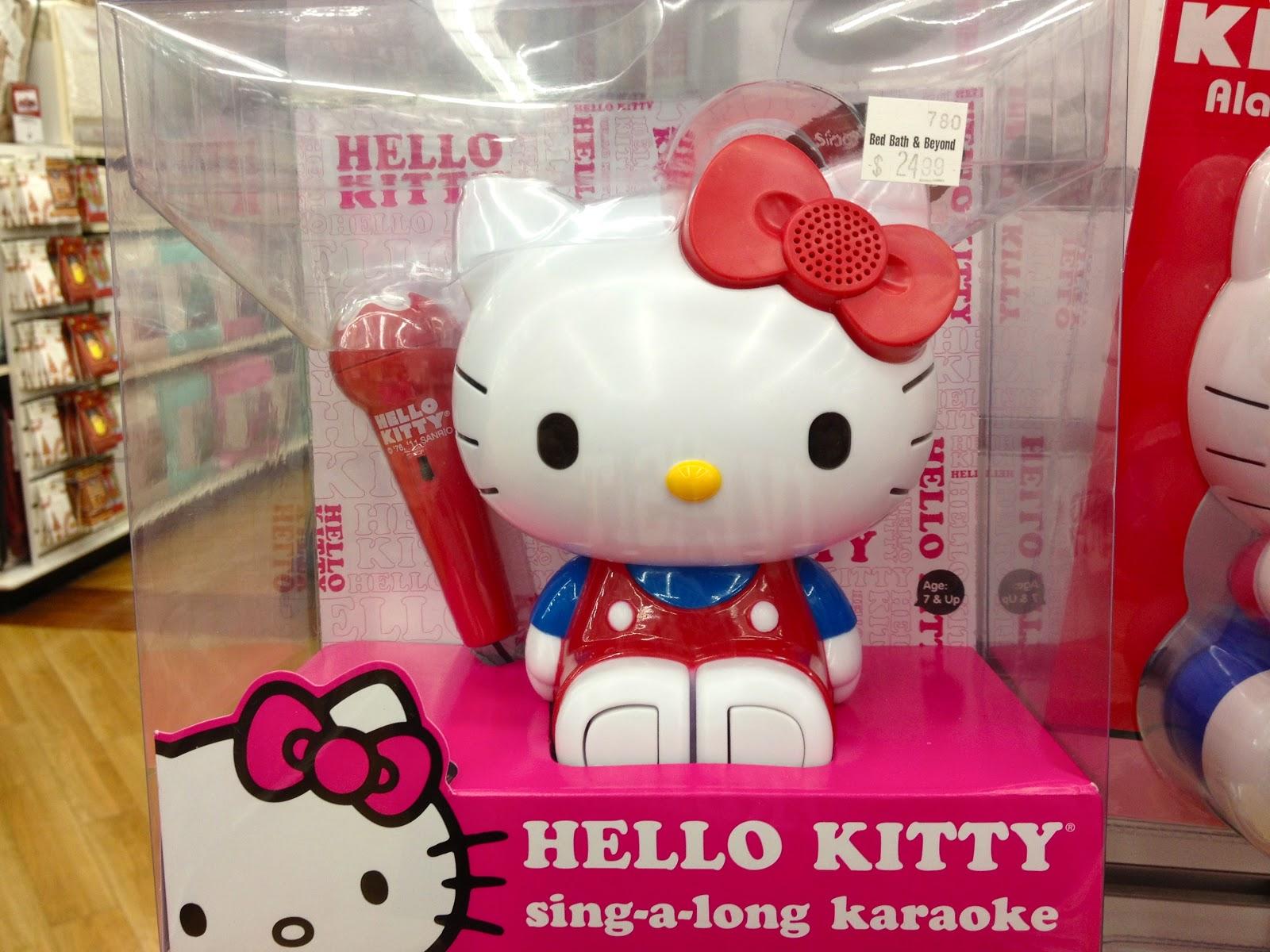 Hello Kitty Karaoke Microphone Hello Kitty Karaoke Mini