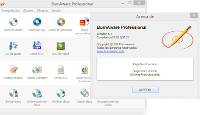 BurnAware Professional 6.7 Final Full Crack