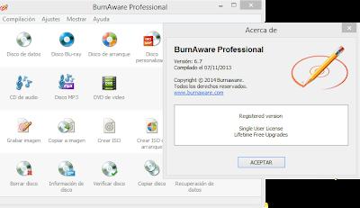 BurnAware Professional 6.7 Final Full Crack