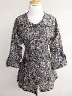 Model Batik Wanita Modern
