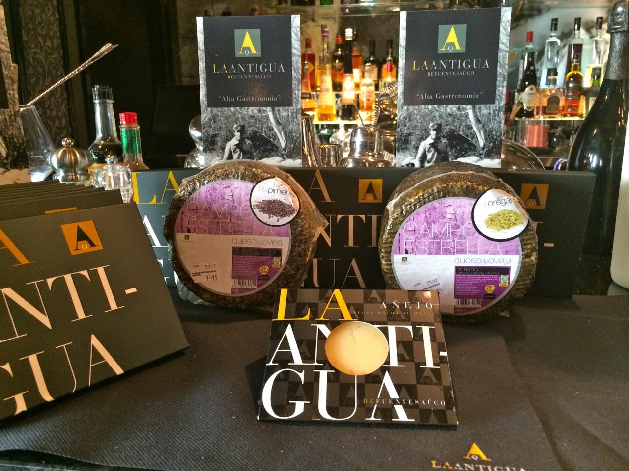 """Маленькие сырные удовольствия от La Antigua или Как приготовить арбузный гаспачо, сырную """"икру"""" и масло с ароматом тархуна"""