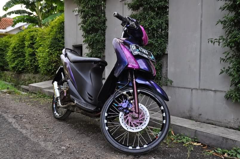 modifikasi motor suzuki spin terbaru