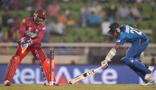 Sri Lanka vs West Indies t20 world cup Scorecard, SL vs WI result,