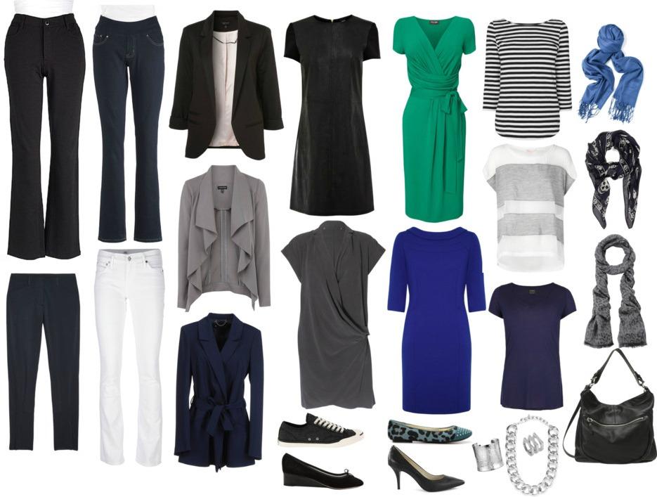 Capsule Wardrobe Over 50 Fall 2015