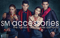 The biggest nd brightest fashion royalty: Georgina Wilson, Richard Gutierrez, Anne Curtis and Xian Lim for SM Accessories