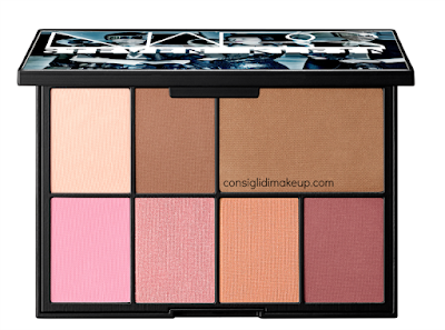 One shocking moment Palette Cheek Studio nars natale 2015