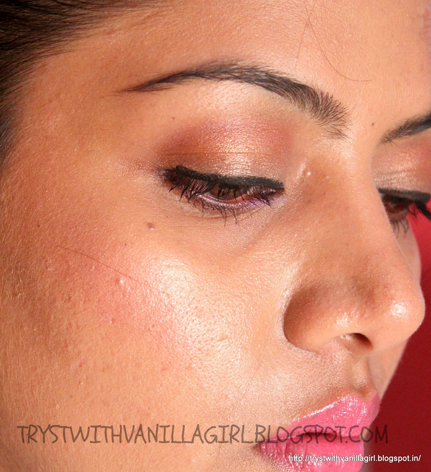 SWATCH:BOBBI BROWN SHIMMER BRICK COMPACT In ROSE