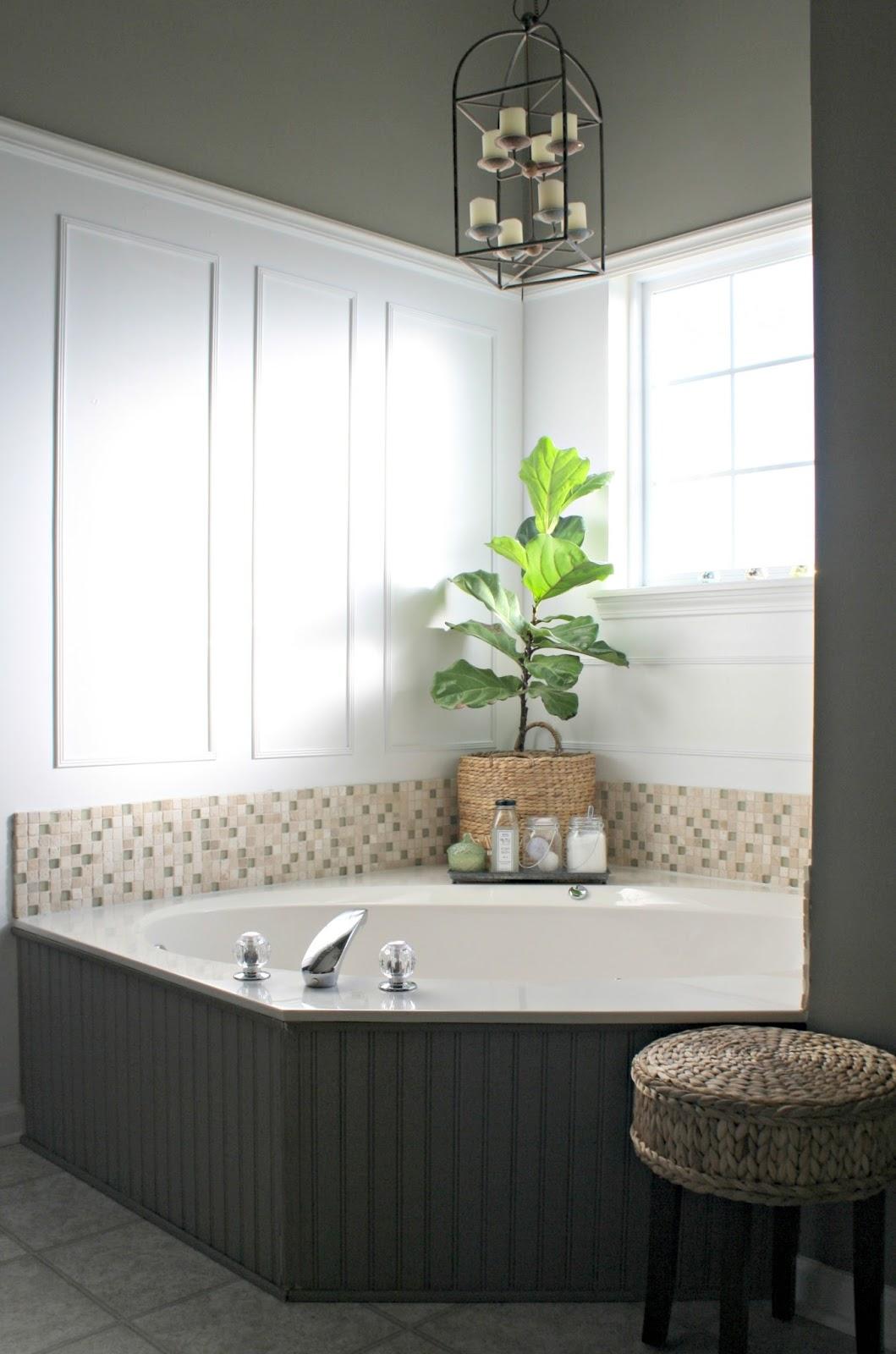 Decorating Area Around Tub