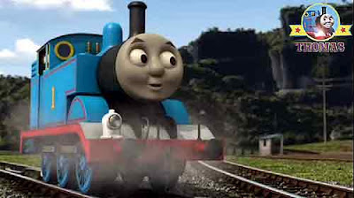 Big crane Rocky and Thomas the tank engine race to the rescue Flynn the train big red hero on wheels