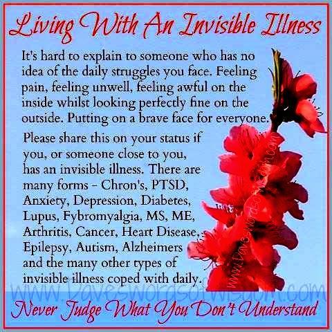 Vivir con una enfermedad invisible