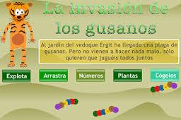 JUEGA CON LOS GUSANOS