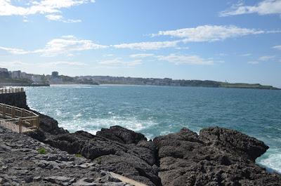 Santander. Vista des de la Península de la Magalena
