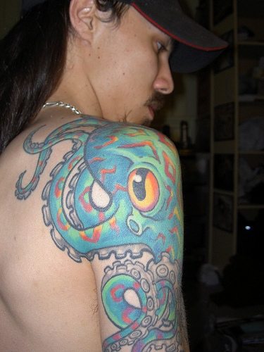 Popular Octopus Tattoo Designs