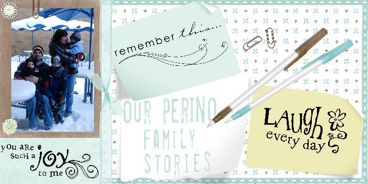 Our Perino Family Stories