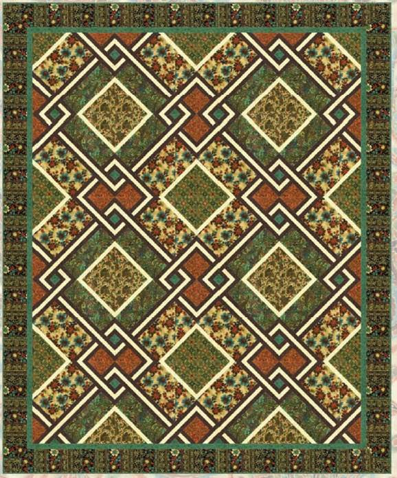 Free pattern day: St. Patrick's Day | Quilt Inspiration | Bloglovin' : irish quilt pattern - Adamdwight.com