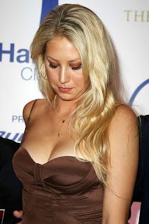 Anna Kournikova Long Blonde Hairstyles - Celebrity Hairstyle Ideas for Girls