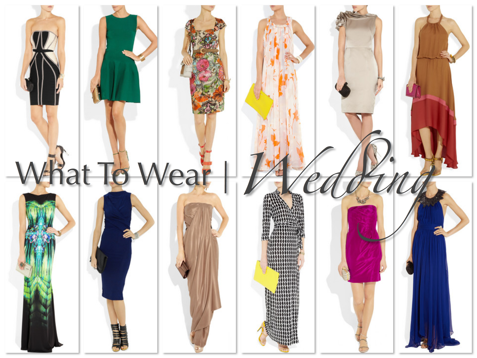 afternoon wedding evening reception what to wear 9