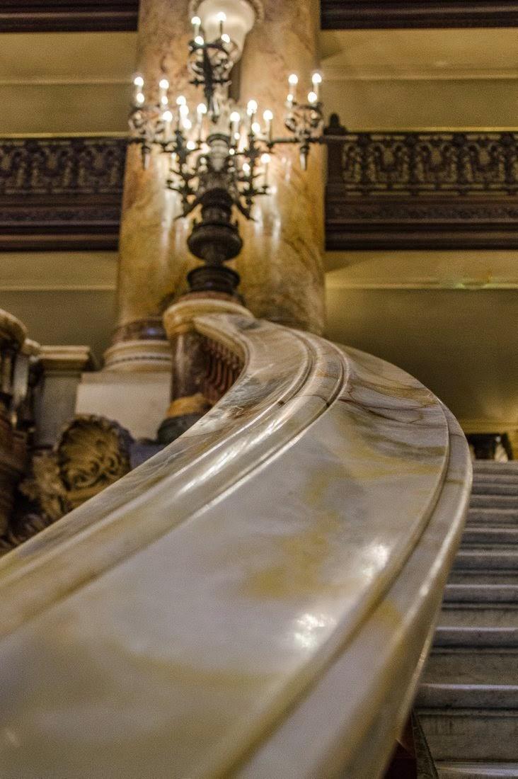 Opéra Garnier - rampe