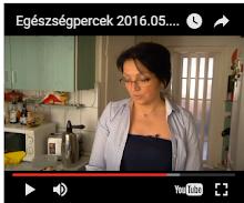 Miskolc TV Egészségpercek című műsorában két süteményt készítettem.