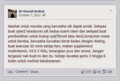 cadangan Dr Hamid Arshat
