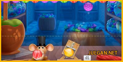 rompe burbujas con el raton