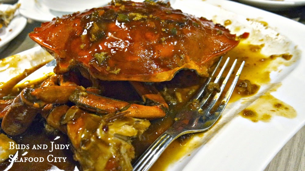 Seafood City. Seafood Restaurant in Cebu City, butter crab