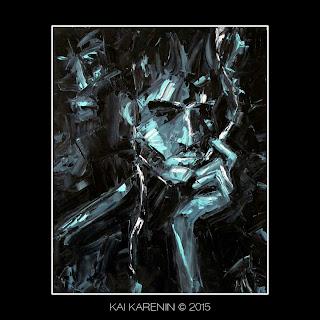 Interlocutor #1 by Kai Karenin, oil on canvas, 40x50 cm
